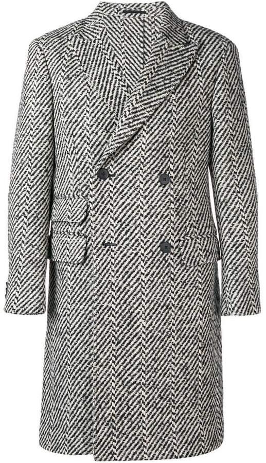 Ermenegildo Zegna double-breasted coat