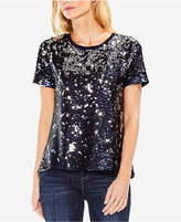 Vince Camuto Sequined T-Shirt