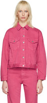 Acne Studios Pink Denim Lab Jacket
