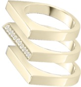 Bonheur Jewelry - Alexis Pave Gold Ring Set
