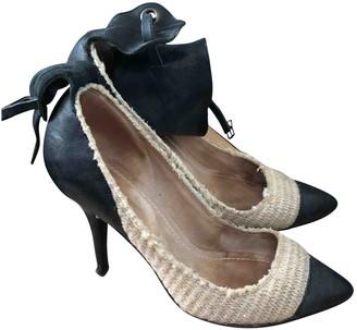 Isabel Marant Beige Tweed Heels