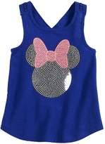Disneyjumping Beans Disney's Minnie Mouse Toddler Girl Sequined Graphic Tank Top by Jumping Beans