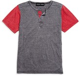 Vintage Havana Boys' Burnout Henley Tee - Sizes S-XL