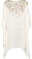 Amanda Wakeley Embellished Silk Tunic