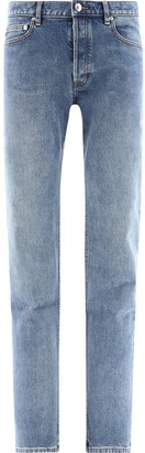 A.P.C. Mid-Waist Washed Effect Jeans