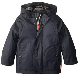Hunter Original Lightweight Ruberrized Jacket (Toddler/Little Kids) (Navy) Kid's Coat