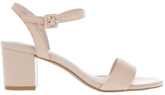 Basque Roma Nude Leather Sandal