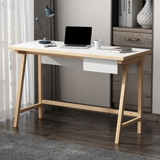 "Corrigan Studio Terwilliger Desk Size: 29.5""H x 47.2""W x 19.7""D"