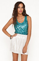 Kirra All Over Sequin Tank