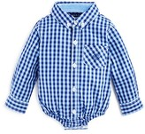 Andy & Evan Infant Boys' Check Shirt Bodysuit - Sizes 3-24 Months
