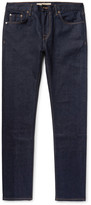 Burberry - Slim-fit Selvedge Stretch-denim Jeans