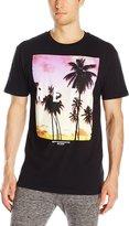 Neff Men's Quad Sunset T-Shirt