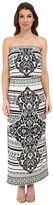 Hale Bob Psychadelic Summer Tube Top Dress