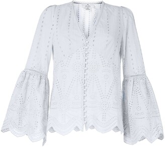 We Are Kindred Lola long-sleeve blouse