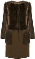 Yves Salomon detachable bottom coat