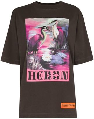 Heron Preston Heron graphic-print T-shirt