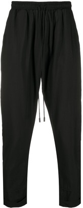 Alchemy Mid-Rise Straight Leg Track Trousers