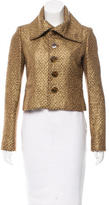 Ralph Lauren Metallic Wool Jacket