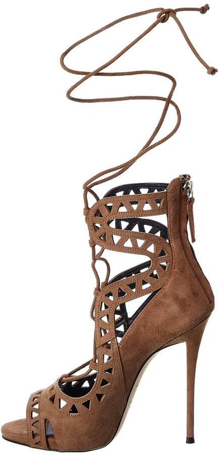 Thumbnail for your product : Giuseppe Zanotti Coline 110 Suede Sandal