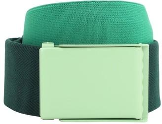 Lacoste 40mm Logo Webbing Belt W/ Elastic Insert