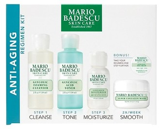 Mario Badescu Anti Aging 4-Piece Regimen Kit