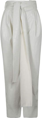 MSGM Front Tie Trousers