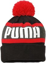 Puma Wording Beanie Hat - Adult - /Scooter