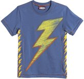 City Threads Bolts Graphic Tee (Toddler/Kid) - Smurf-3T