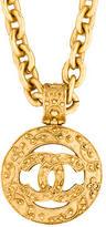 Chanel Long CC Pendant Necklace