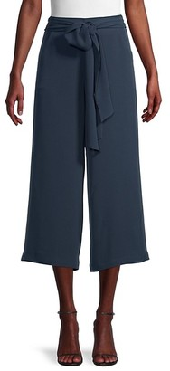 Max Studio Striped Wide-Leg Pants