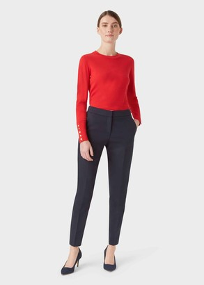 Hobbs Petite Summer Gael trousers With Stretch