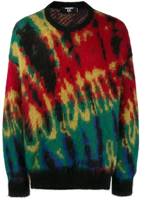 DSQUARED2 Printed Knit Jumper
