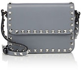 Valentino Women's Rockstud Small Shoulder Bag-LIGHT GREY