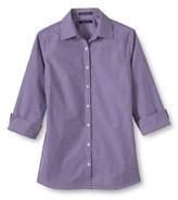 Women's 3/4 Sleeve Pattern Broadcloth Shirt