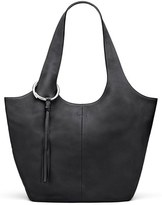Elizabeth and James Finley Leather Shopper - Black