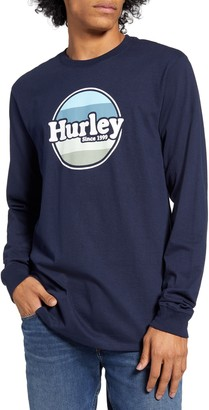 Hurley Jammer Long Sleeve T-Shirt