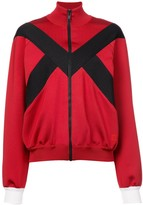 Givenchy stripe detail zipped jacket