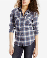 Levi's Plaid Flannel Shirt
