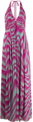 Just Cavalli macrame detail dress