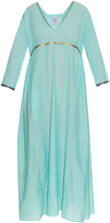 Thierry Colson Pakeza silk and cotton-blend maxi dress