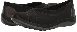 Aravon Wembly Envelope (Black) Women's Slip on Shoes