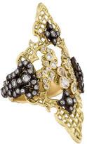 Armenta Diamond Old World Crivelli Saddle Ring w/ Tags