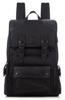 Belstaff Tourmaster technical-nylon and leather backpack