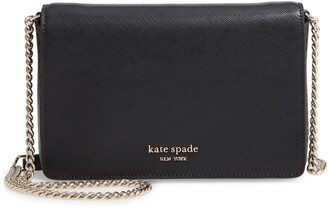 Kate Spade Spencer Leather Wallet On A Chain