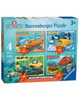 Fashion World Octonauts Vehicle Jigsaw 4 in a Box