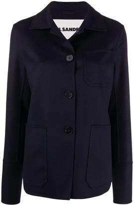 Jil Sander Buttoned Workwear Jacket