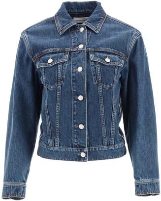 Alexander McQueen Denim Jacket With Selvedge