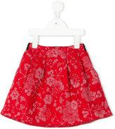 Kenzo neoprene and lurex skirt - kids - Cotton/Polyamide/Polyester - 2 yrs