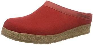 Haflinger Torben, Unisex Adults' Slippers, Red ( Rubin)