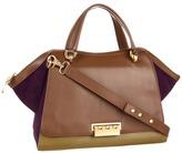 Z Spoke Zac Posen Eartha Soft Double Handle Satchel (Mud/Willow/Royale) - Bags and Luggage